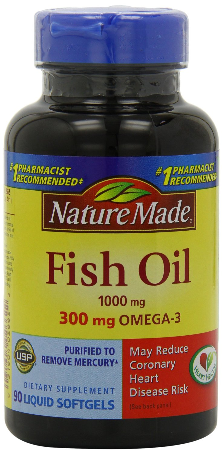 Nature made for Fish oil on face